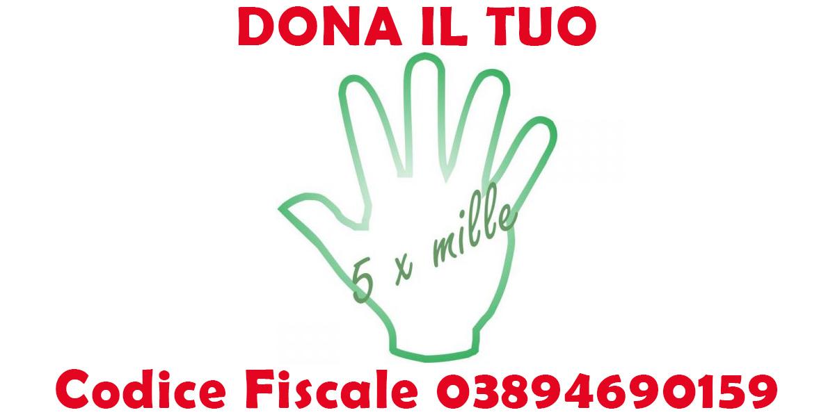 Dona il tuo 5 X Mille